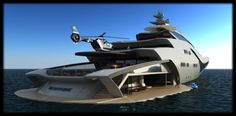 project-magnitude-by-oceanco-really-is-magnificent-4 Yacht Luxury, Luxury Boats, Yachting Club, Bateau Yacht, Yacht Cruises, Float Your Boat, Cool Boats, Love Boat, Yacht Boat
