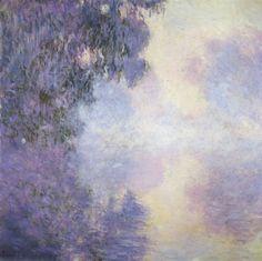 1897 Claude Monet (French Impressionist. 1840-1926) ~ Bras de Seine près de Giverny