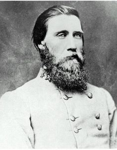 John Bell Hood, born in Kentucky, graduated West Point in 1853. Hood's Texas Brigade charged and broke the union position at Gaines' Mill, but at the price of every field officer in the brigade, except for him, being killed or wounded. He would fight in most of the large battles of the war and would eventually command the Army of the Tennesee during the disastrous Franklin and Nashville Campaign. Hood would end the war with only 1 good arm and 1 leg and he died in 1879 of yellow fever.