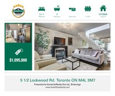 """Beautiful Renovated House In """"The Beach"""" With Ttc At The Door. Dream Kitchen Has Gas Stove, S/S Appliances. Amazing Floating Stairs. Great Location Minutes To The Boardwalk. Great For Entertaining W/ Walk-Out To Landscaped Garden. Newly Renovated Bathrm In The Basement. 2 Good Size Bedrms W/ A Possible 3rd Bedroom On The Lower Floor. Excellent Location To The Lakeshore. Street Parking Available. Walking Distance To The Beach Village!"""
