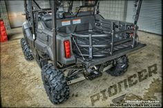 Custom Honda Pioneer 700-4 Side by Side / SxS / UTV. More Pictures / Videos / Reviews at www.HondaProKevin.com
