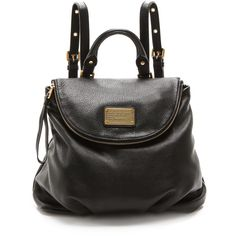 Marc By Marc Jacobs Classic Q Mariska Backpack - Black found on Polyvore