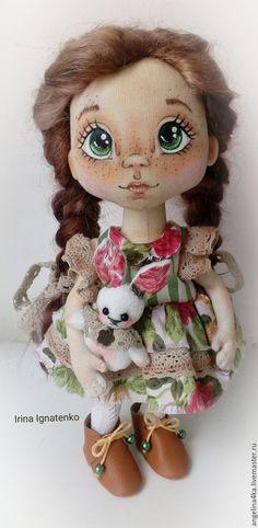 Купить Кукла Иришка - комбинированный, кукла ручной работы, кукла, кукла в подарок, кукла интерьерная