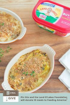 Pin this recipe to donate meals to Feed America!