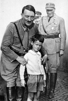 The younger generation always in the heart of the Fuehrer.