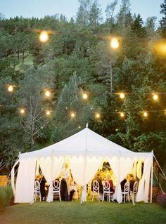 Tented reception: http://www.stylemepretty.com/2011/06/09/napa-valley-wedding-by-jose-villa-rosemary-special-events/ | Photography: Jose Villa - http://josevillaphoto.com/: