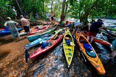 Catawba River #kayaking