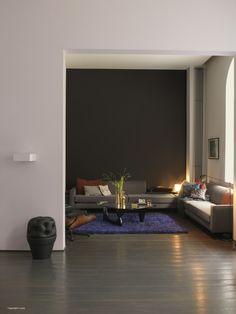 Woonkamer - Inspiratie - Levis Kleur donkere muur: Silently infinity