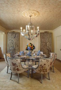 Courtesy of the Washington Post, DC Design House, Dining Table by Spectrum Collection