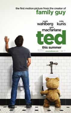 """---  (69%) Ted's """"romance versus bromance"""" plot is familiar, but the film's held aloft by the high-concept central premise and a very funny (albeit inconsistent) script."""