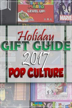 When you have a tough time deciding on a gift, you can't go wrong with pop culture. Check out this baker's dozen of ideas in our holiday gift guide! - SahmReviews.com