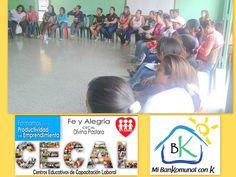 .: Los Bankomunales promocionados por Fe y Alegria.