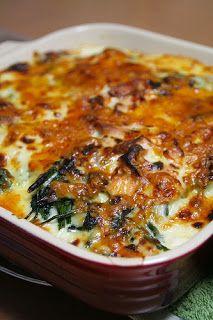 Cucina Pietro: Spinaci gratinati (Gegratineerde spinazie)