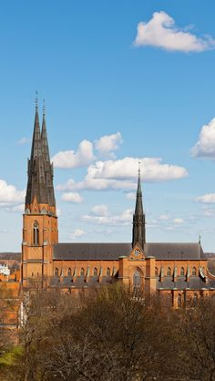 Uppsala-Cathedral-Skyline-Sweden-