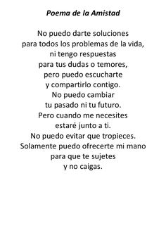 Bff Quotes, True Quotes, Quotes Amor, Ex Amor, Friendship Poems, Love Phrases, Love Messages, Spanish Quotes, Inspirational Quotes