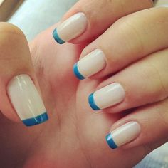 Perfect manicured nails for the female bridal party.