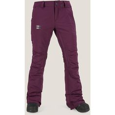 Volcom packed the Knox Insulated GORE-TEX® Pant for Women with style and strength to keep up with your longest riding days. Crafted with GORE-TEX® weather proof power on the outside and our V-Science Breathable Lining System plus low-loft insul