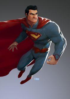 cartoonish-superhero-art-series-superman-wolverine-nick-fury-captain-america