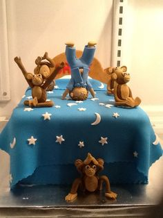 Five Little Monkeys Cake Cakes By Sugarism By Anne Tran