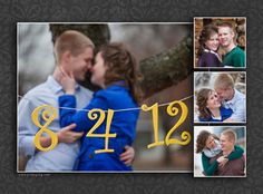 our save the date