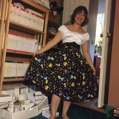 """""""My Doris Wonderland skirt thanks to a lovely lady from the PUG Swap & Sell.  My second successful swap!"""""""