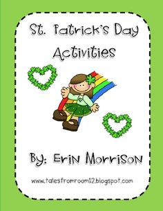 Celebrate St. Patrick's Day with these 8 fun math and literacy activities!
