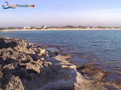 Punta Prosciutto's cliff, Porto Cesareo, Salento, Puglia