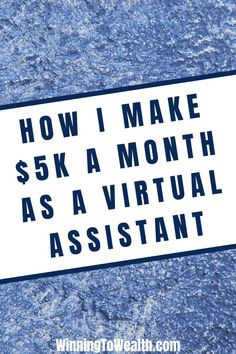 Fran Moore started a virtual assistant business as a side hustle. A few months later, she had enough revenue to make it a career. Make Money Fast, Make Money From Home, Make Money Online, Living On A Budget, Frugal Living, Virtual Assistant Jobs, Money Saving Tips, Money Tips, Get Out Of Debt
