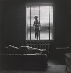 Harry Callahan. Eleanor and Barbara, Chicago. 1954