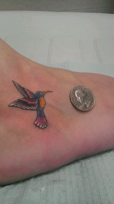 My hummingbird tattoo...love it!!