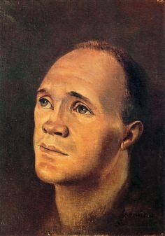 Portrait de Jean Genet, Leonor Fini