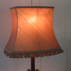 Classic huge gold lampshade