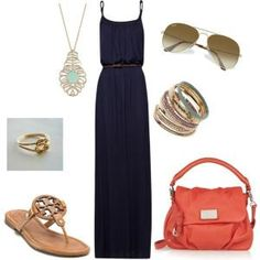 Maxi dress - Polyvore by AislingH