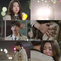 """Cheer Up! """"Sassy, Go Go"""" ♥ Ja Dae saves So Ah. Aka when I squealed and spazzed out. Cause reasons. Lee Won Geun, Lets Fight Ghost, Sassy Go Go, Legend Of Blue Sea, Good Morning Call, Age Of Youth, Emergency Couple, Taiwan Drama, Oh My Venus"""