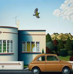 Hamish Allan: New Zealand Landscape Artist Landscape Art, Landscape Paintings, Art Nouveau, New Zealand Landscape, New Zealand Art, Nz Art, Art Prints Online, Art Diary, Art Deco Buildings