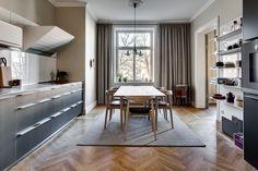 Home in warm tones -