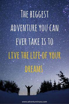 . #dream #life #adventure #live