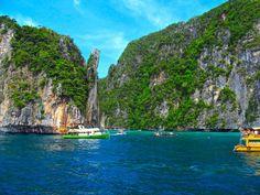 Ilhas Phi Phi, cartão-postal da Tailândia