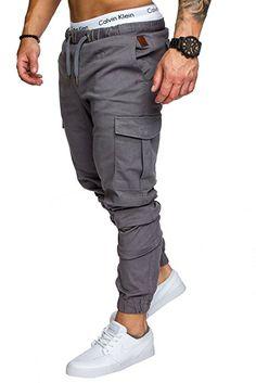 b669ea35e000c3 Amaci&Sons Jogger Cargo Herren Chino Jeans Hose 7001 Schwarz W30:  Amazon.de: Bekleidung