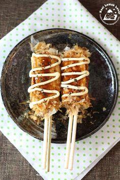 Hashimaki / Okonomiyaki on Chopsticks