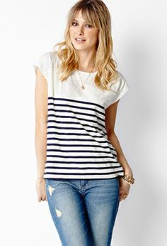 Nautical Knit Tee | FOREVER 21 - 2000070883