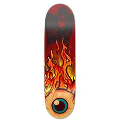 This skateboard deck is made with Canadian Maple wood with High Resolution graphic applied. Artwork by: Timmy Bottoms Painted Skateboard, Skateboard Deck Art, Electric Skateboard, Skateboard Design, Penny Skateboard, Art Patin, Cool Deck, Skate Art, Cool Skateboards