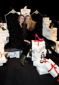 Jerry Hall and Elizabeth Jagger open Harrods sale