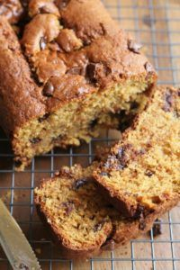 Chocolate Chunk Orange Bread - a delicious quick bread with a subtle orange flavor and big chunks of chocolate. | Savorystyle.com
