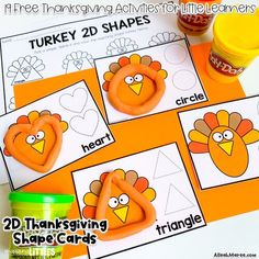 19 Free Thanksgiving Activities for Toddlers, Preschoolers, and Kindergarteners — Alleah Maree
