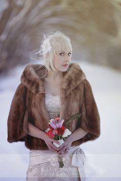 Winter Wedding Fur, Winter Bride, Winter Wonderland Wedding, Snowy Wedding, Dream Wedding, Gatsby Wedding, Luxury Wedding, Vintage Fur, Vintage Bridal