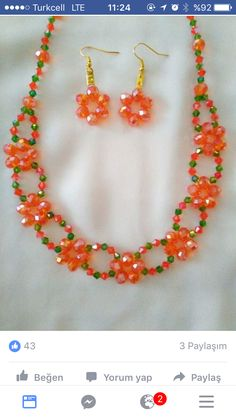 Are you considering hand-made DIY jewelry? Have you contemplated figuring out how to make these designs on your own? Discover the various methods essential to style and design rings, necklaces and much more for yourself and to share if you prefer. Beaded Necklace Patterns, Beading Patterns, How To Make Necklaces, How To Make Beads, Bead Jewellery, Women's Jewelry, Copper Jewelry, Imitation Jewelry, Seed Bead Tutorials