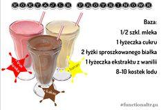 #koktajle #proteiny #dieta