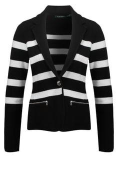ADEWINA - Blazer - black/white