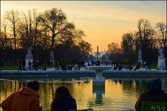 View from the  bassin octogonal/Paris,France/20150415